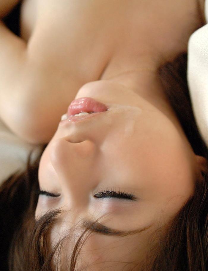 【顔射エロ画像】美しい顔でドロッドロのザーメンを受け止める破廉恥美少女! 16