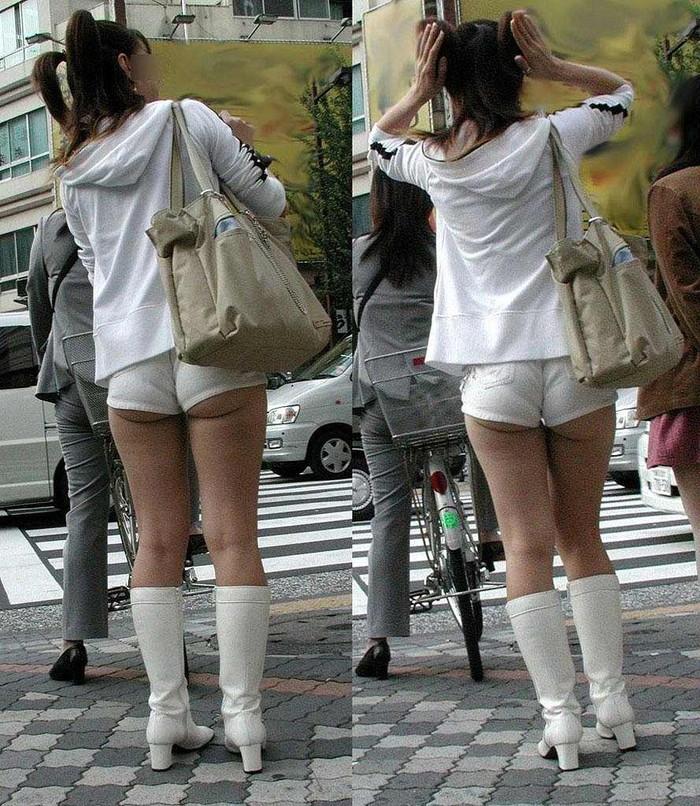【着衣お尻エロ画像】街中で見かける風景だからこその興奮!エロすぎる着衣のお尻! 20