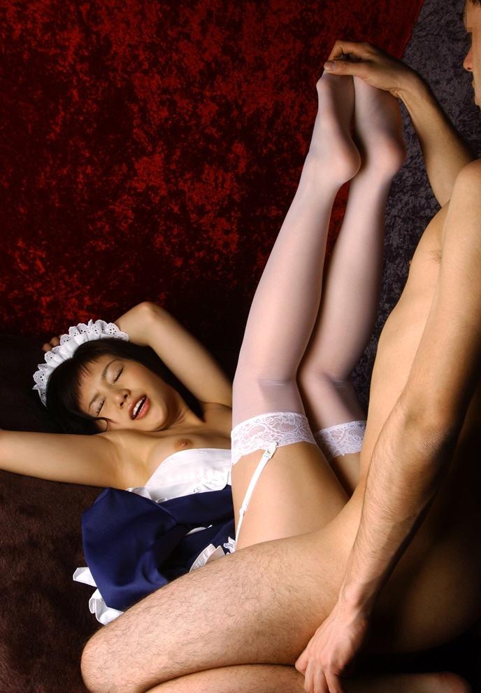 【メイドエロ画像】やっぱり萌えるッ!メイドコスの女の子とセクロス画像 03