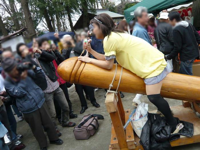 【かなまら祭エロ画像】本当にあったチンポ祭でとんだ羞恥プレイ! 12