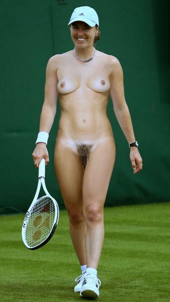 【全裸スポーツエロ画像】全裸でスポーツって開放的すぎるだろ!?w 24