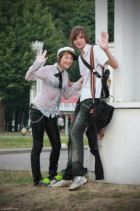【ロシア水掛け祭りエロ画像】濡れた着衣がスケスケ!こんなん絶対勃起するだろ! 09