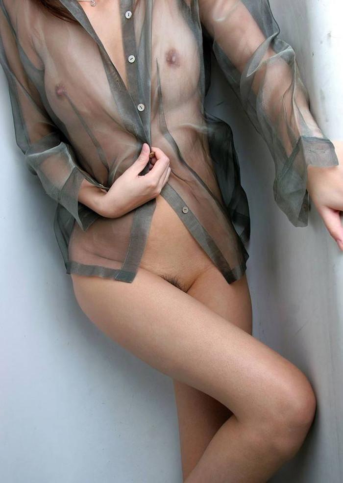 【スケスケエロ画像】これだけスケスケな着衣なら裸同然だな!w 08