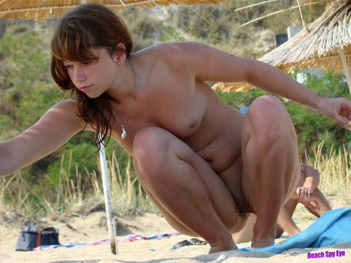 【ヌーディストビーチエロ画像】海外美女のオマンコ見放題!ヌーディストビーチ! 31