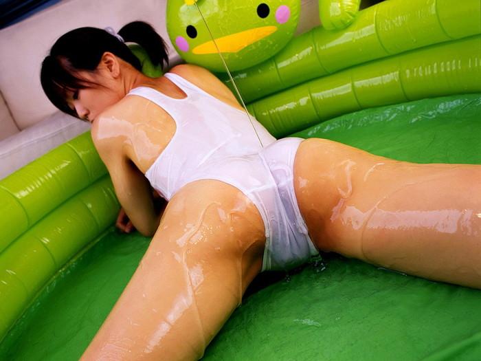 【ローションエロ画像】ヌルテカボディーが大迫力のローションまみれの女たち! 09
