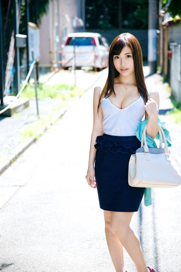 【北野のぞみエロ画像】まるでお嬢様のような風貌のサラサラ黒髪のAV女優 23