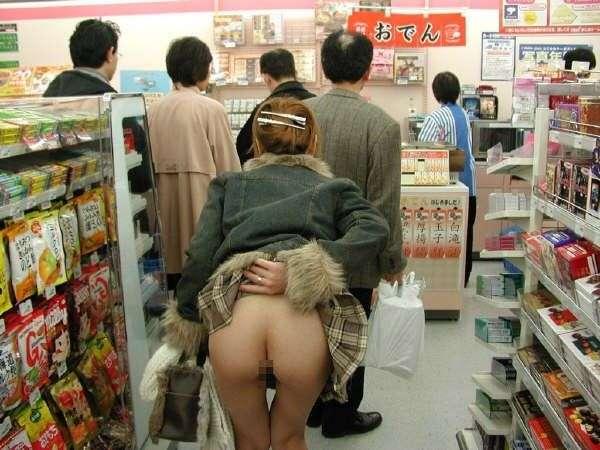 【野外露出エロ画像】最近の露出癖のある素人たちって凄いよな!? 03